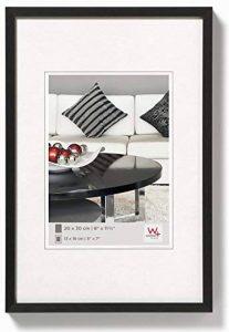 Walther AJ01 Chair Tableau avec Cadre en aluminium, noir, 50 x 60 cm de la marque Walther Design image 0 produit